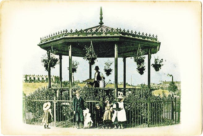 The bandstand once in St George Park, Bristol