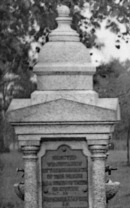 Page Park Drinking Fountain 1912