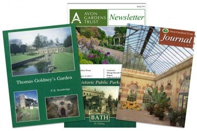 Publication, books, AGT, Avon Gardens Trust, Goldney, Tyntesfield, Bath parks